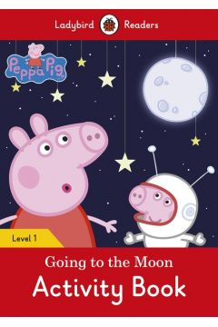 Peppa Pig Going to the Moon Activity Book