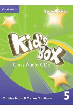 Kid's Box 2ed 5 Audio CD (3)