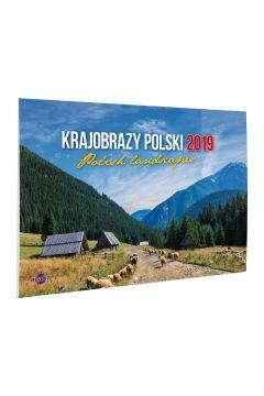 Kalendarz 2021 KA-7 Krajobrazy Polski AVANTI
