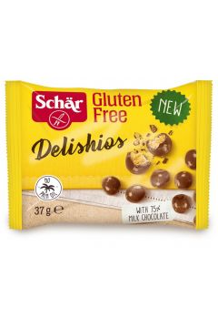 Chrupiące kulki w czekoladzie bezglutenowe
