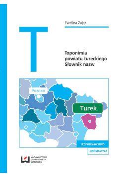 Toponimia powiatu tureckiego