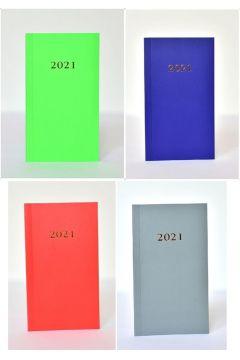 Kalendarz 2021 Tygodniowy Kieszowy Flex MIX