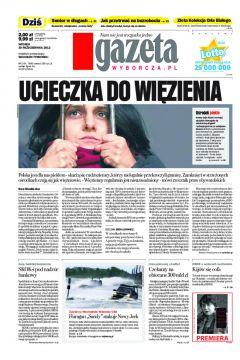 Gazeta Wyborcza - Szczecin 254/2012