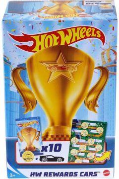 Hot Wheels. Samochodziki nagrody. Zestaw motywujący