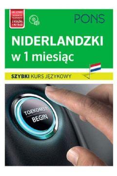 Szybki kurs językowy. Niderlandzki w 1 miesiąc +CD