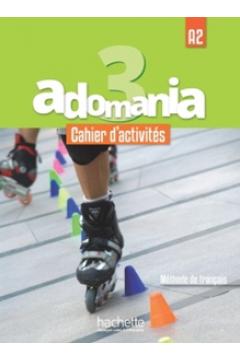 Adomania 3 ćwiczenia + CD