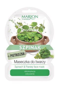 Fit&Fresh Face Mask maseczka do twarzy detoksykacja i odżywienie Szpinak & Pietruszka