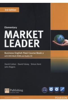 Market Leader Elementary Flexi Course Book 2 +CD +DVD