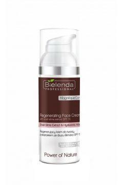 Power Of Nature Regenerating Face Cream With Snail Extract Hyaluronic Acic SPF15 regenerujący krem do twarzy z ekstraktem ze śluzu ślimaka