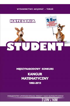 Matematyka z wesołym Kangurem. Kategoria Student