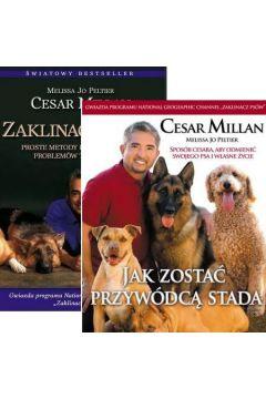 Zestaw 2 książek Zaklinacz Psów + Jak zostać przywódcą stada - Cesar Millan