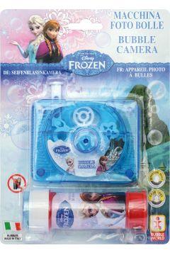 Aparat fotograficzny z bańkami Frozen