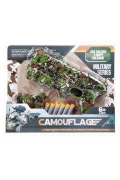 Pistolet na strzałki + akcesoria CAMOUFLAGE MC