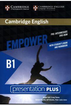 Cambridge English Empower Pre-intermediate Presentation Plus with Student's Book and Workbook