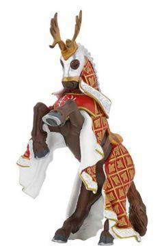 Koń Mistrza broni z jelenim czubem