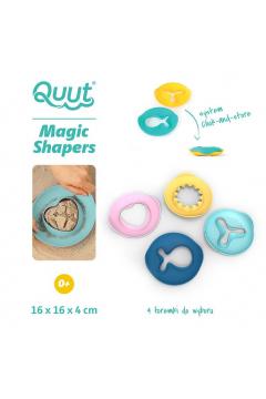 QUUT Foremki wielofunkcyjne Magic Shapers, opakowanie zbiorcze 24 sztuki, mix rodzajów i kolorów
