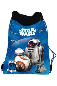 Worek na obuwie Star Wars Epizod VII niebieski MAJEWSKI