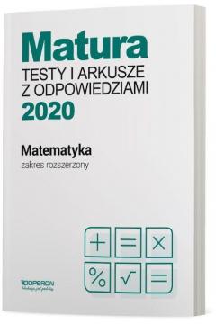 Matura 2020 Matematyka. Testy i arkusze maturalne. Zakres rozszerzony