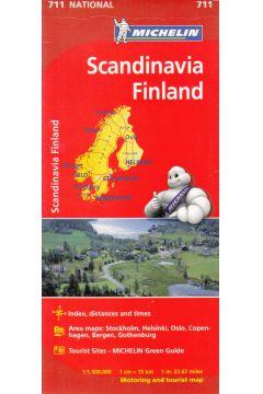 Scadinavia finland 1:1 500 000