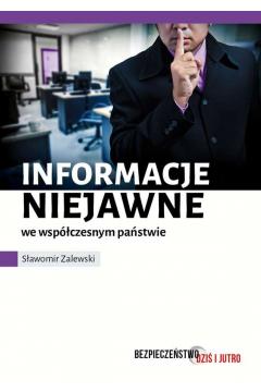 Informacje niejawne we współczesnym świecie
