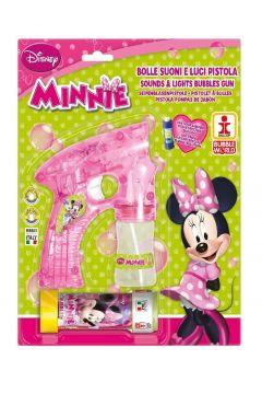 Pistolet do robienia baniek mydlanych duży Minnie