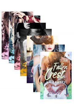 Pakiet Fallen Crest. Tom 1-7: Akademia, Rodzina, Szkoła, Próba, Uniwersytet, Dom, Na zawsze