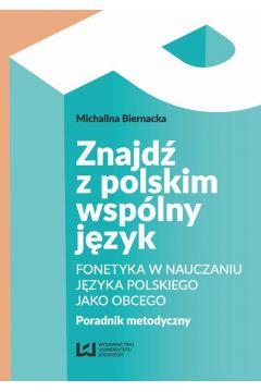 Znajdź z polskim wspólny język