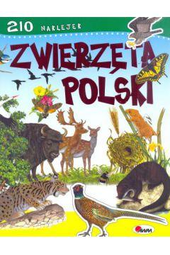 Zwierzęta Polski. 210 naklejek