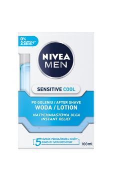 Chłodząca woda po goleniu Men Sensitive Cool