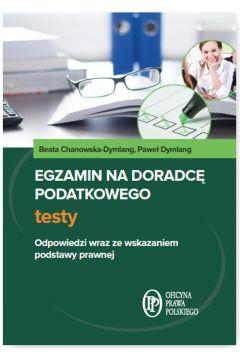 Egzamin na doradcę podatkowego. Testy
