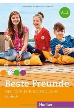 Beste Freunde A1.1. Podręcznik. Wersja niemiecka