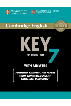 Cambridge English Key 7 Student's Book with Answers