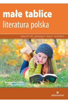 Małe tablice. Literatura polska  ADAMANTAN