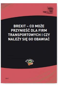 Brexit - co może przynieść dla firm transportowych i czy należy się go obawiać
