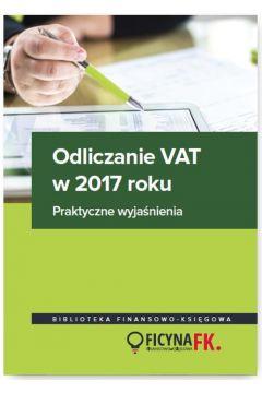 Odliczanie VAT w 2017 roku