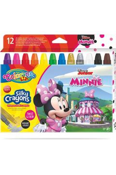 Kredki żelowe wykręcane Colorino Kids 12 kolorów Minnie