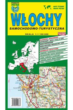 Włochy mapa samochodowo-turystyczna