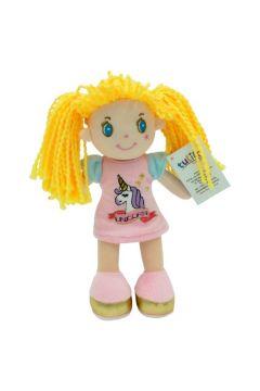 Lalka Zosia różowa sukienka 20 cm
