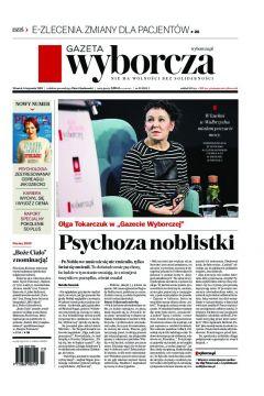 Gazeta Wyborcza - Zielona Góra 10/2020