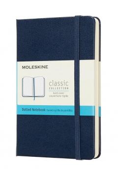 Notes Classic 19x14 tw. kropki szafirowy