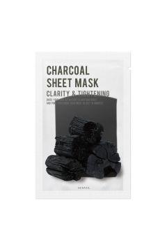Oczyszczająca maseczka do twarzy z węglem Sheet Mask Charcoal