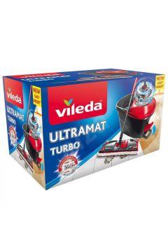 Mop obrotowy i wiadro zestaw Ultramat Turbo BOX