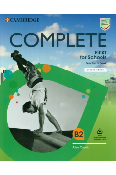 Complete First for Schools Teacher's Book with Downloadable Resource Pack