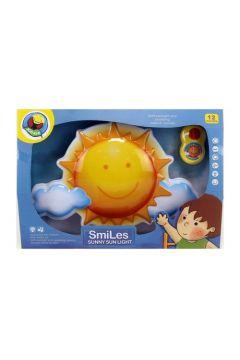 Lampka nocna dla malucha słoneczko