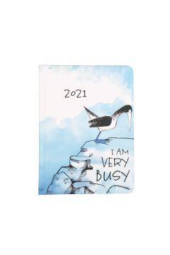 Kalendarz tygodniowy B6 2021 Ptak