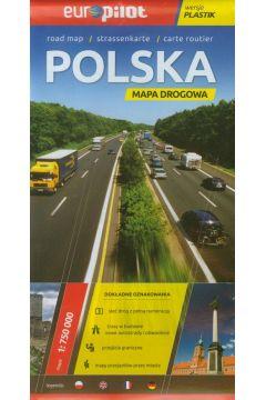 Mapa Drogowa EuroPilot. Polska plastik