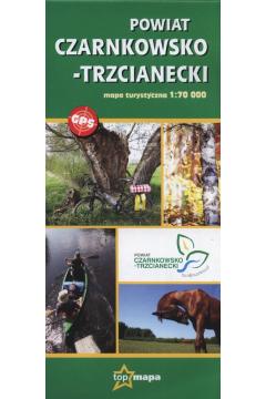 Powiat Czarnkowsko-Trzcianecki mapa turystyczna 1:70 000