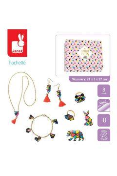 Zestaw kreatywny do tworzenia biżuterii z kurczliwego plastiku Geometrix 8+