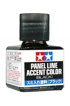 Panel Accent Black
