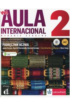 Aula Internacional 2 podręcznik wer. polska + CD